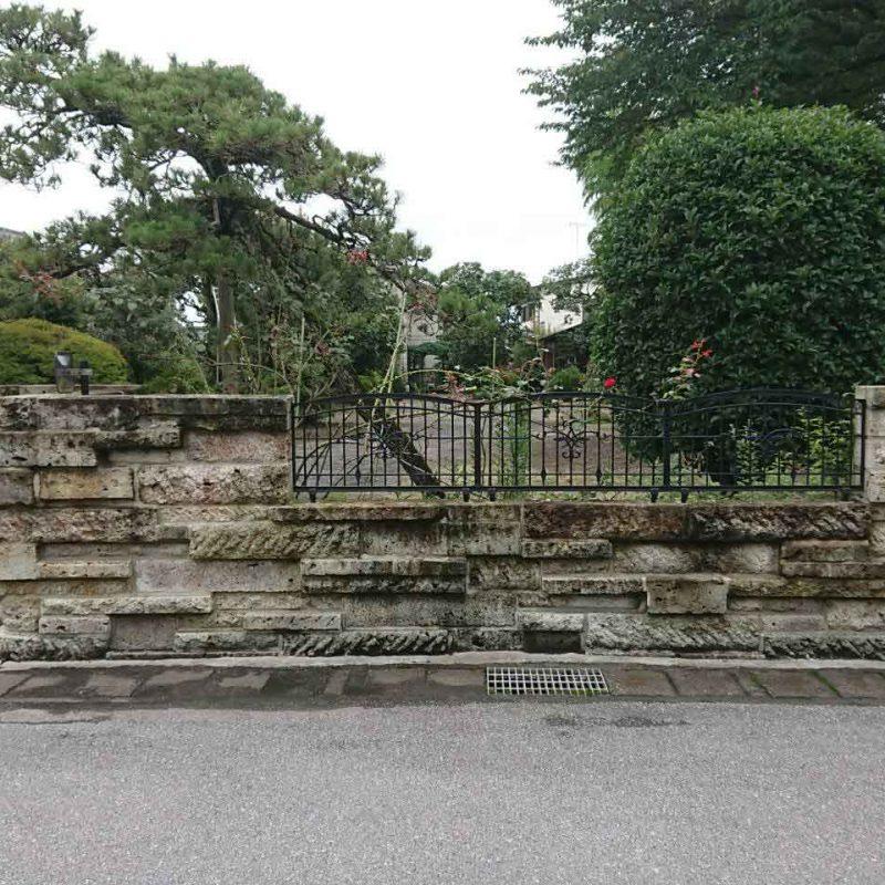 大谷石石塀